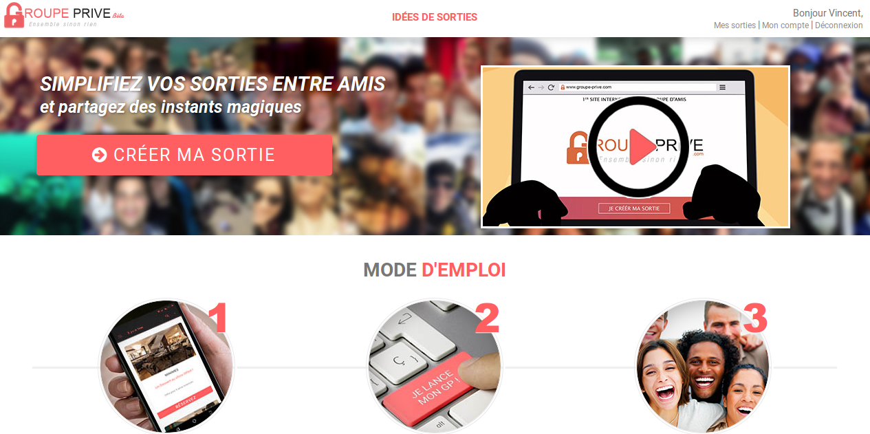 site-wordpress-sortie-entre-amis-groupe-prive-com